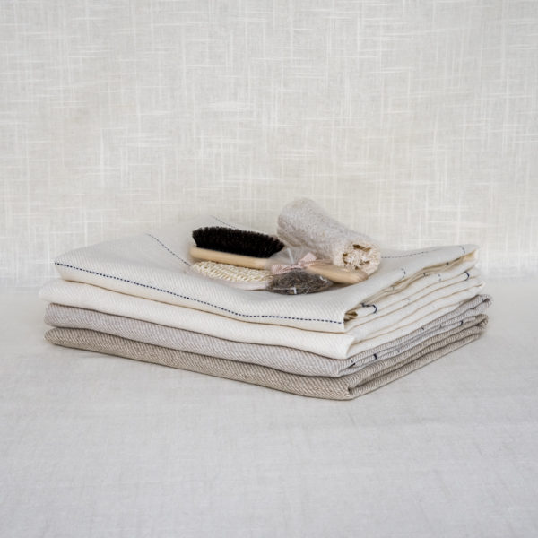 linen towel by mijo line